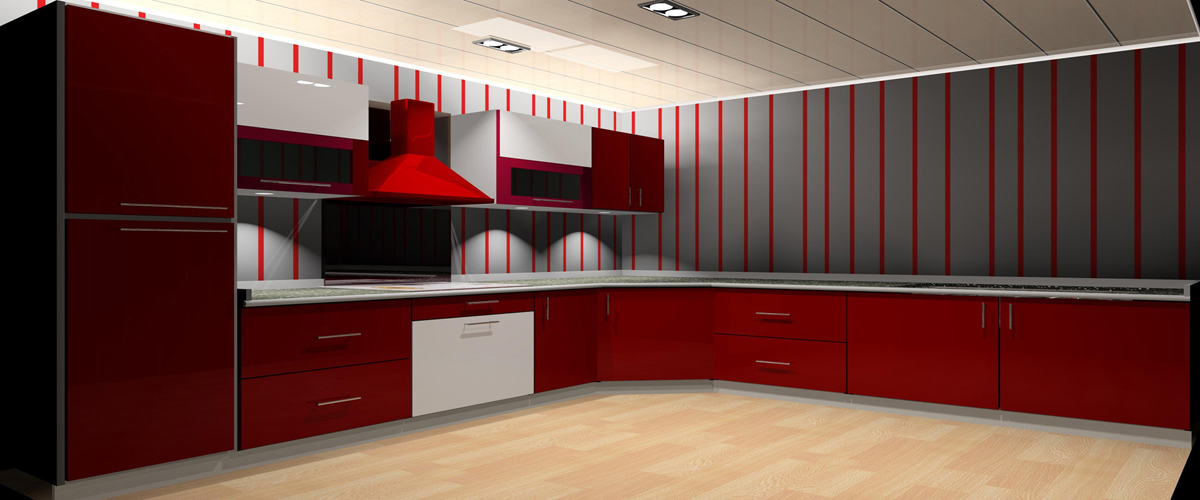 Rasoi modular kitchen in raipur luxury modular kitchens for Traditional modular kitchen